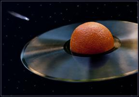 Сатурн в иллюминаторе.