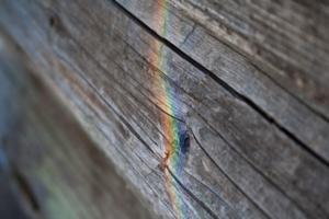 Необычная радуга