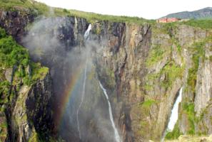Водопад Ворингфоссен, Норвегия