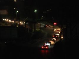 Ночь. Машины. Город