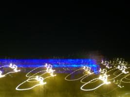 рисунки ночных огней