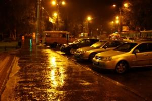 Вечерний дождь.