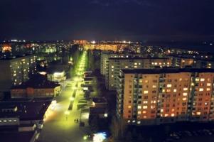 Ночной г. Курчатов
