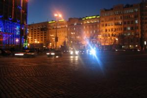 Город уходит в ночь