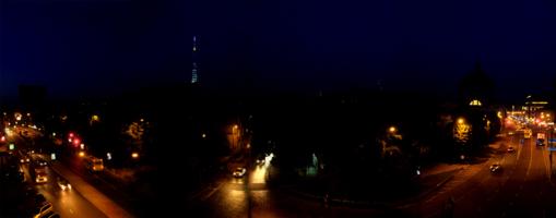Ночные улицы Львова