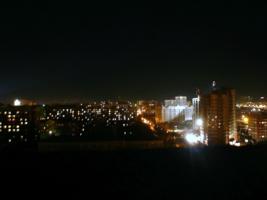 В ночном...