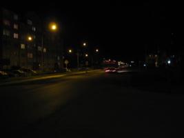 Свет в ночи.