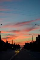 Ночной Каспийск