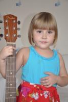 Будущая гитаристка