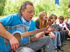 Изгиб гитары.