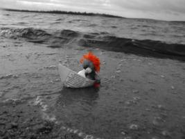 с долгого плавания