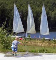 первая вода будующего яхтсмена