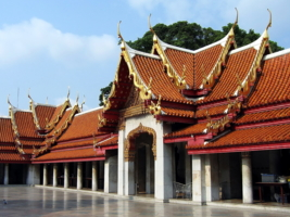 Бангкок. Мраморный храм.