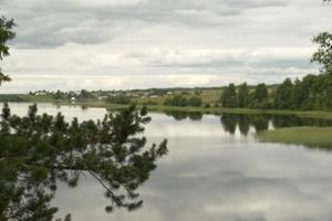 Хмурое озеро