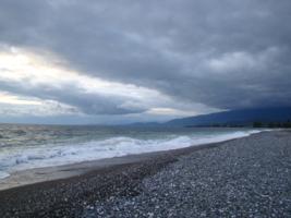 осеннее море
