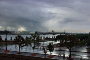 В Петербурге сегодня дожди...