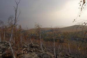 Хмурится небо над Уралом