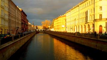 янтарный город перед зимой...