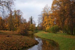 Парк, пруд, остров