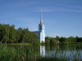 Церковь в Петропавловском парке