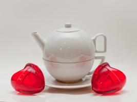 Чайная пара для пары сердец...