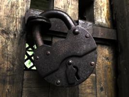 Монастырская дверь