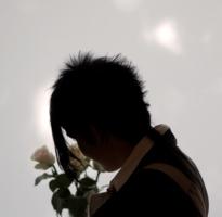 Дама с розами