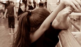 Катя -Катерина, прима -балерина