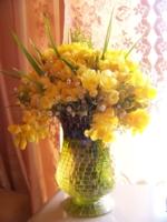 Весенний букет для мамы