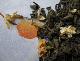 Зелёный чай с жасмином .