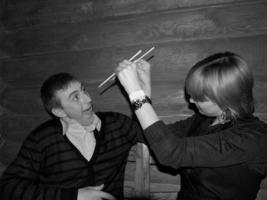 Научишь меня есть палочками:?)
