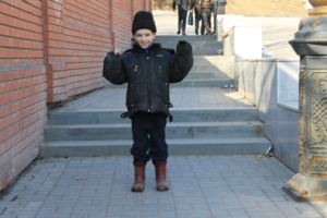 улыбчивый мальчик :)