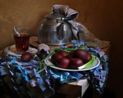 Чай на Пасху