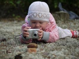 Подрастающий фотограф)