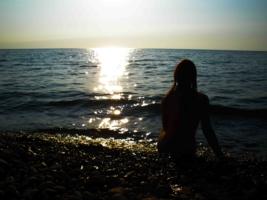 я никогда не видел моря.......