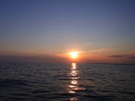 закат в Сиде