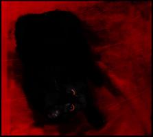 Черное на красном