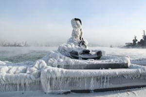 Холод в Новороссийске.