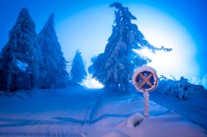 Туман в морозе
