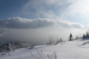 Холод в горах