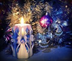свеча и ангелы