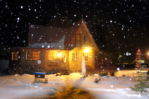 Ночь, накануне Рождества ...