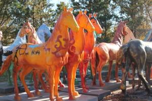 New семейство лошадиных