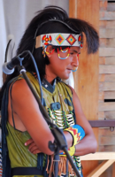 Перуанский музыкант