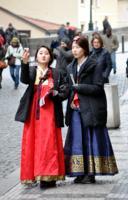 Туристы из поднебесной