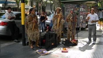 На улицах Буэнос-Айреса