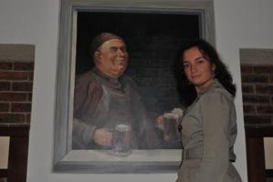 портрет на фоне портрета