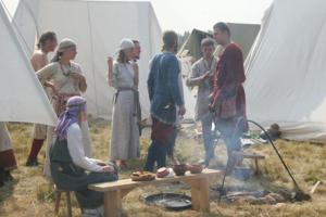 средневековый...