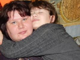 Моя любимая мамочка!