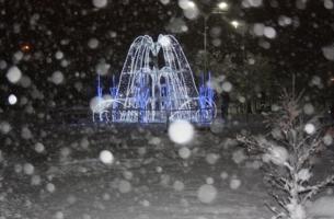 Зимний фонтан.
